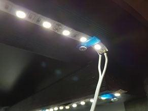LED Strip Holder Bracket Clamp