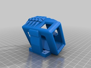 skull gopro mount (5,6,7) for source one