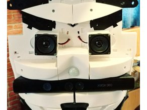 InMoov Speaker Under Chest