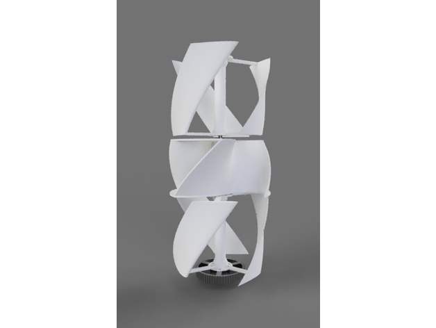 Vertical Axis Wind Turbine (VAWT
