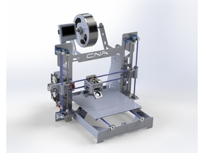 Prusa i300 (St37 3mm Structural Steel) - X=300-Y=300-Z=230 mm