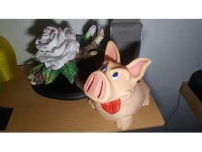 Sparschwein mit Drehverschluss, Piggybank