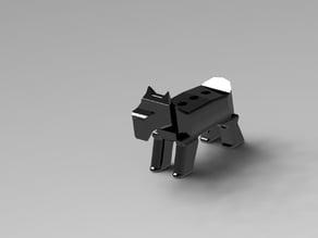 Terrier Pencil Holder