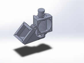 E3D Dual Fan Mount (Printrbot Plus V2)