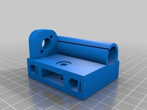 Prusa i3 Leadscrew Z axis upgrade with Endcap - Remix