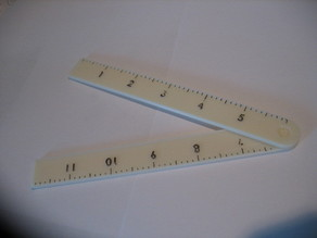 Folding Pocket Ruler