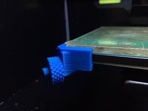 Flashforge Creator Pro Glass Adjustable Bed Bracket (MOD)