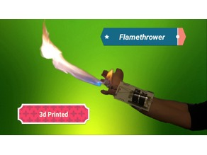 Wrist Mounted Flamethrower