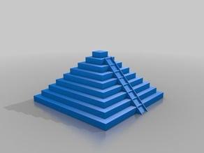 maya aztec pyramid Ziggurat