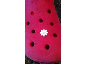 Gear Charm for your Crocs™ (includes blank base)