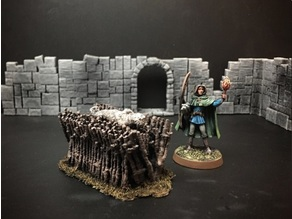 Delving Decor: Funeral Pyre (28mm/Heroic scale)