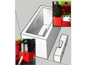 Pickleball Power Holder for Lobster PB Machine