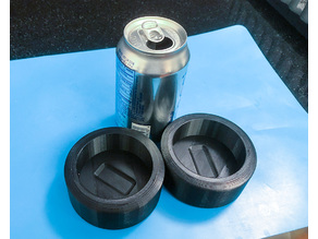 Hand Protection Puck for Aluminum Can Smashing