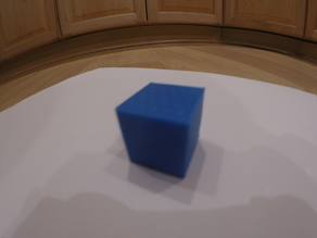 20mm and 10mm Calibration Cube