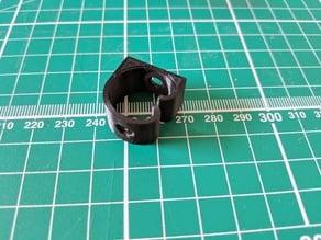 Under desk cable tidy clip