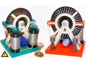 Wimshurst Electrostatic Machine WH16