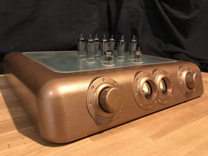 Steampunk Vacuum Tube Amplifier
