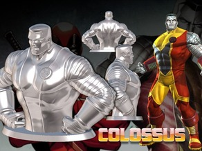 Colossus Bust (High Res)