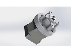 Coaxial reduction for any bowden extruder