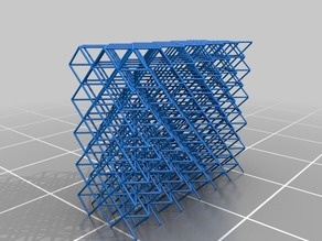 SLA Metallic Microlattice test