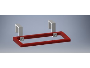 Towel hanger for modular kitchen doors