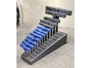 Bondhus Style Allen Wrench Rack