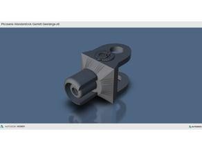 Picosens MTC WS Garrett Gestänge / Garrett Metalldetektor / Metaldetector