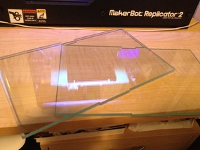A Replicator 2 build plate