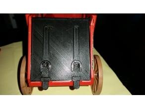 Playmobil 1976 stage coach rear door