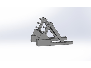 Adjustable docking stand for Apple