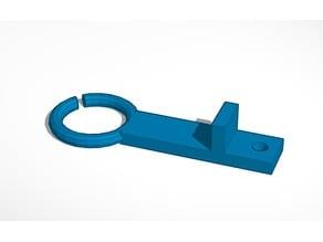 Anycubic Prusa I3 Ultrabase Filamentholder / Filamentguide