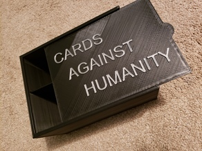 Lid for Cards Against Humanity Box
