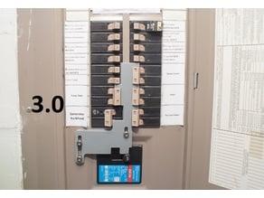Cutler Hammer Breaker panel interlocking plate for generators