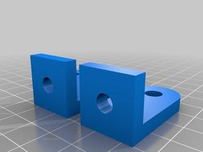Top Z-Supports for MakerFarm Pegasus 8""
