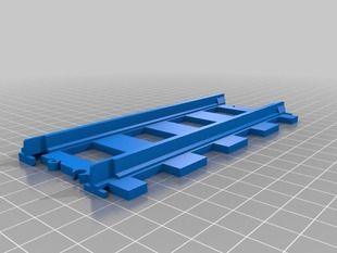 Simple Lego Train Track, Straight