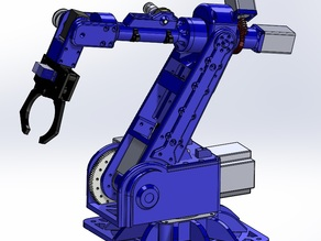 6 axis stepper robot