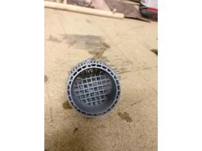 Dust plug vaccum cleaner