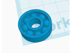Print In Place 608 Bearing