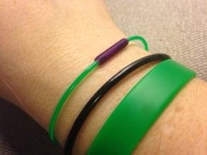 Filament bracelet clasp