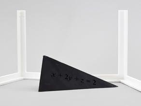 Coordinate axes