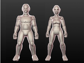 Sculptris Dummies: Elves