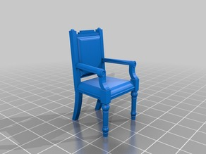 1:24 Victorian Side Chair