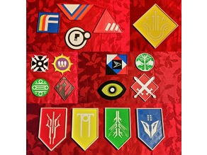 Destiny Faction Coaster Set