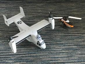 Runcam Micro Swift 2 camera pod for V-22 Osprey
