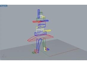 Bauspiel (Bauhaus shipbuilding blocks)