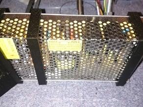 Power supply brackets for Mendel i2