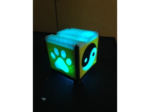 Phone/Tablet Cube Holder with LED/RGB Lights