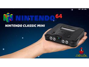 N64 Mini Classic - Raspberry Pi 3 A+ (Case)
