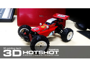 TAMIYA HOTSHOT 1:24 scale kit for SUBOTECH