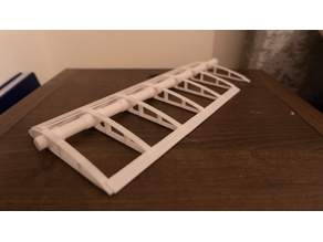 Modular wing section model